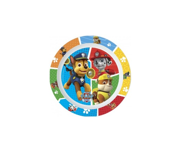 PIATTO PIANO PP MICROW. PAW PATROL PH