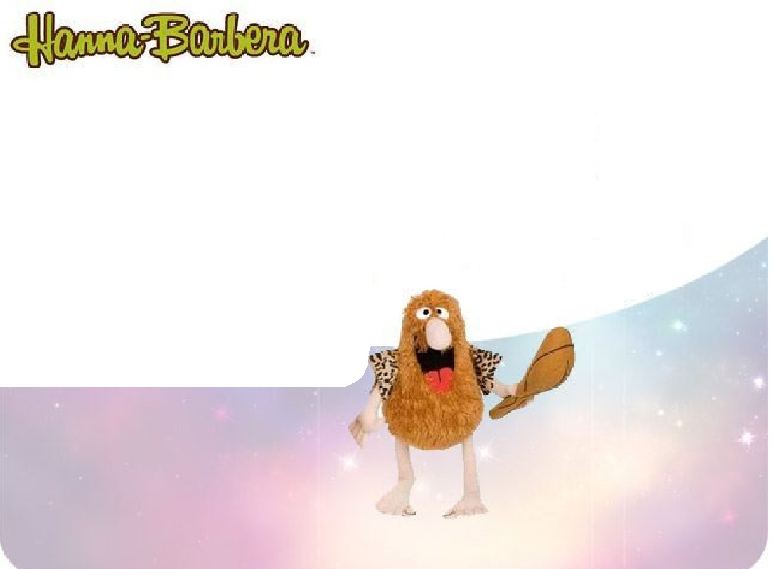 PELUCHE CAPITAN CAVEMAN 35 CM HANNAH BARBERA CARTOON