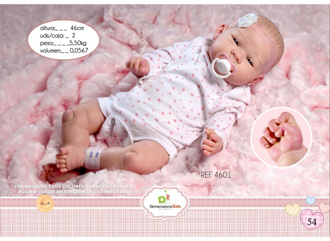 REBORN DANIELA BODY ROSA COPERTA 46 CM SC.SING  1,90 KG