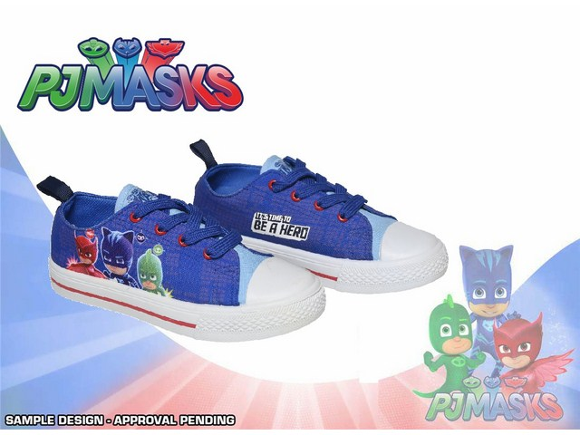 SCARPA CON LACCI 100% polyester SUBLIMATION PRINT TG. 23/30 PJ MASKS