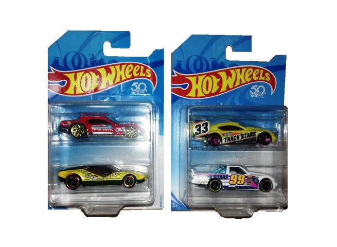MACCHINE HOT WHEELS BI PACK  2PZ ASSORTITE
