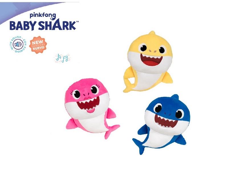 PELUCHE 20CM CON SUONI BABY SHARK