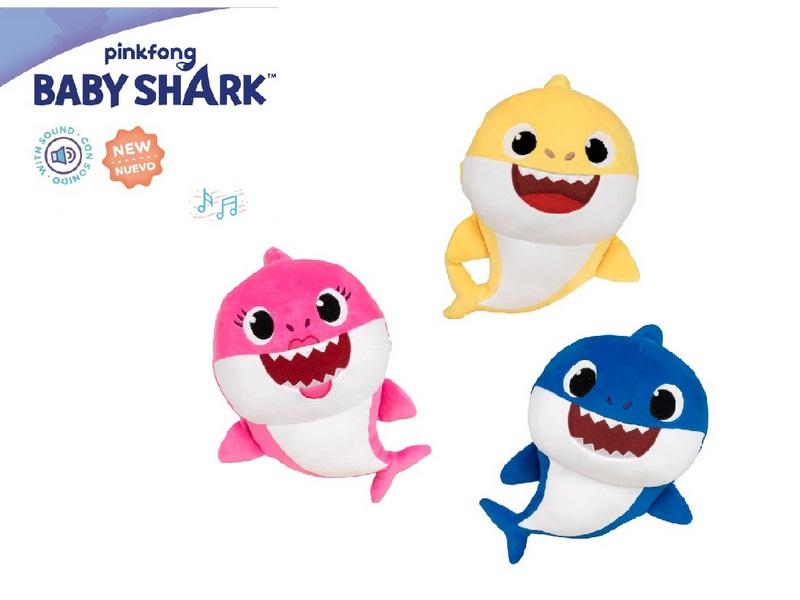 PELUCHE 27CM CON SUONI BABY SHARK
