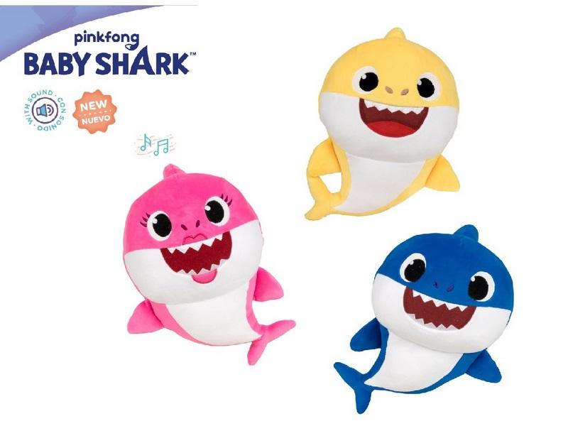 PELUCHE 37CM CON SUONI BABY SHARK