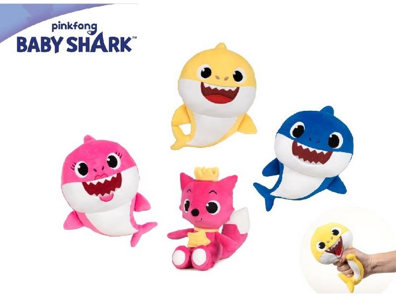 PELUCHE 20CM SOFT BABY SHARK