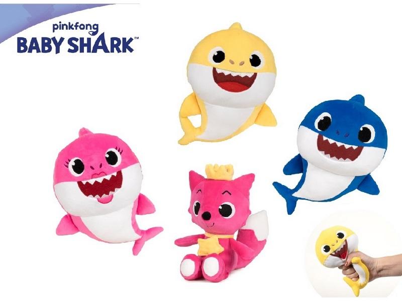 PELUCHE 27CM SOFT BABY SHARK