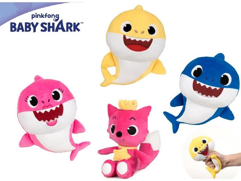 PELUCHE 37CM SOFT BABY SHARK