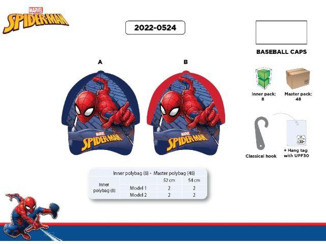 CAPPELLO BASEBALL TG 52/54 SPIDERMAN