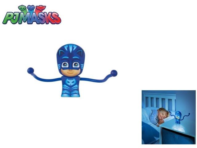 Torcia e luce notturna con braccia flessibili PJ MASKS