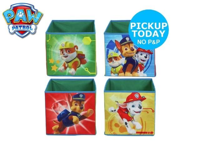 Contenitori a cubo per i giocattoli dei bambiniPAW PATROL