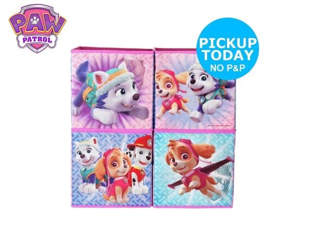 Contenitori a cubo per i giocattoli dei bambiniPAW PATROL GIRL