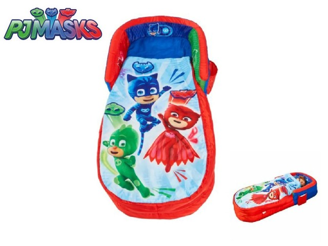 My First ReadyBed - Letto gonfiabile e sacco a pelo per bambini 2 in 1 PJ MASKS