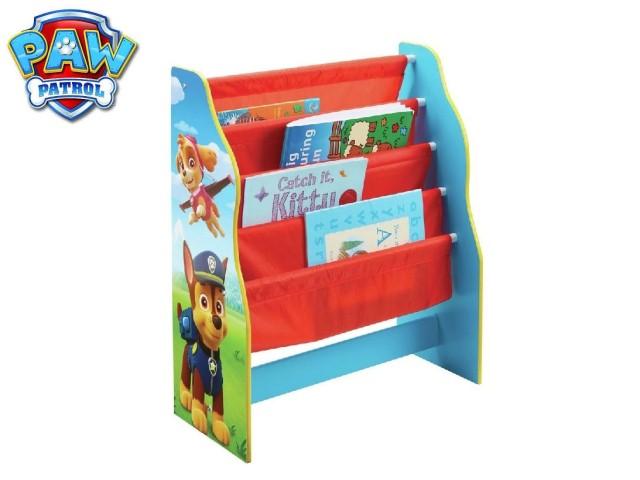 Libreria a fasce in tessuto per bambini - contenitore di libri da camerettaPAW PATROL