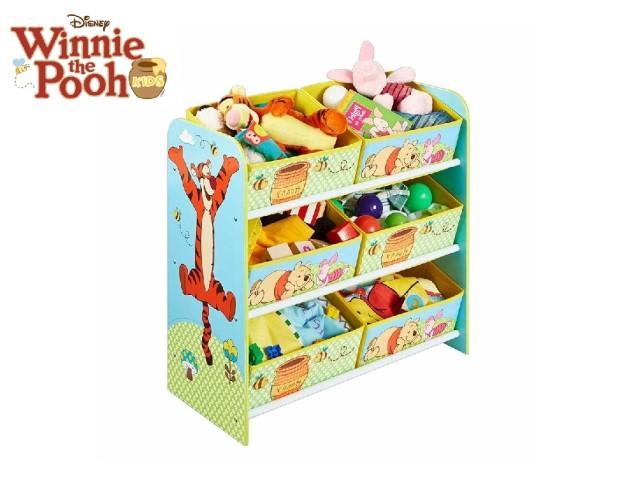 Mobile con contenitori per la cameretta a 6 scomparti Winnie the Pooh