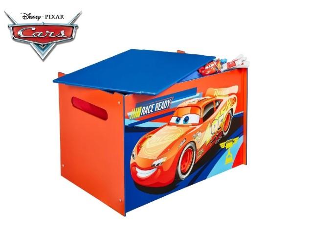Contenitore per i giocattoli dei bambini - cassapanca contenitore per la cameretta dei bambiniCARS