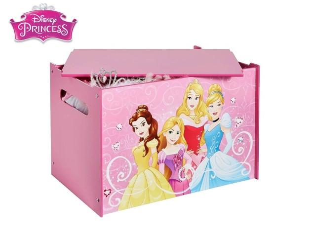Contenitore per i giocattoli dei bambini - cassapanca contenitore per la cameretta dei bambiniPRINCESS