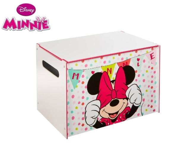 Contenitore per i giocattoli dei bambini - cassapanca contenitore per la cameretta dei bambiniMINNIE