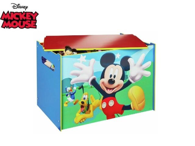 Contenitore per i giocattoli dei bambini - cassapanca contenitore per la cameretta dei bambiniMICKEY