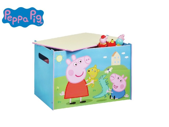 Contenitore per i giocattoli dei bambini - cassapanca contenitore per la cameretta dei bambini PEPPA PIG