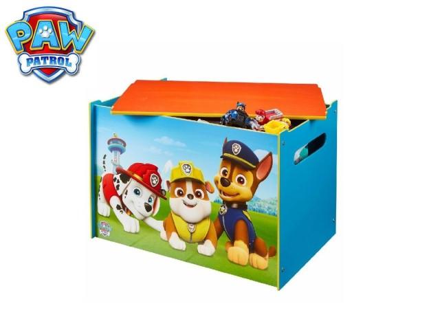 Contenitore per i giocattoli dei bambini - cassapanca contenitore per la cameretta dei bambiniPAW PATROL