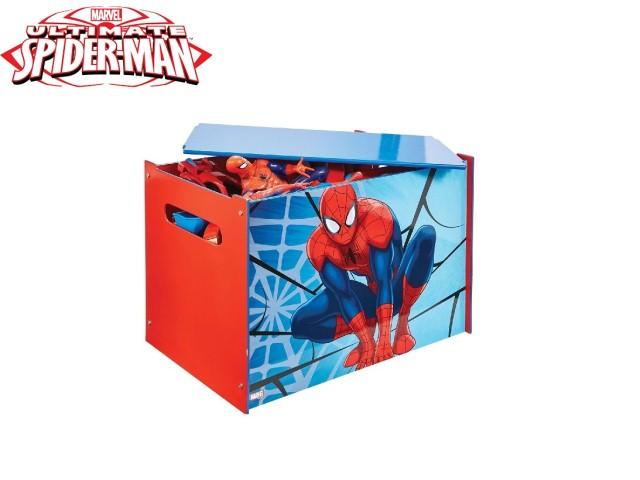Contenitore per i giocattoli dei bambini - cassapanca contenitore per la cameretta dei bambiniSPIDERMAN