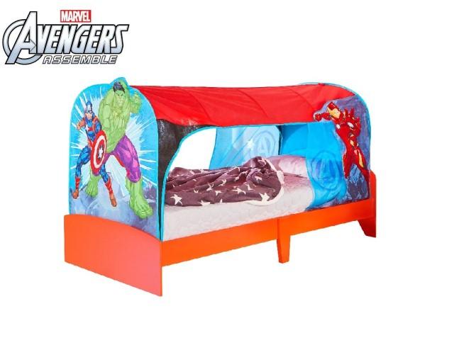 Tenda rifugio da montare sopra il letto AVENGERS