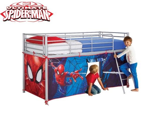 Tenda per letto a soppalco SPIDERMAN