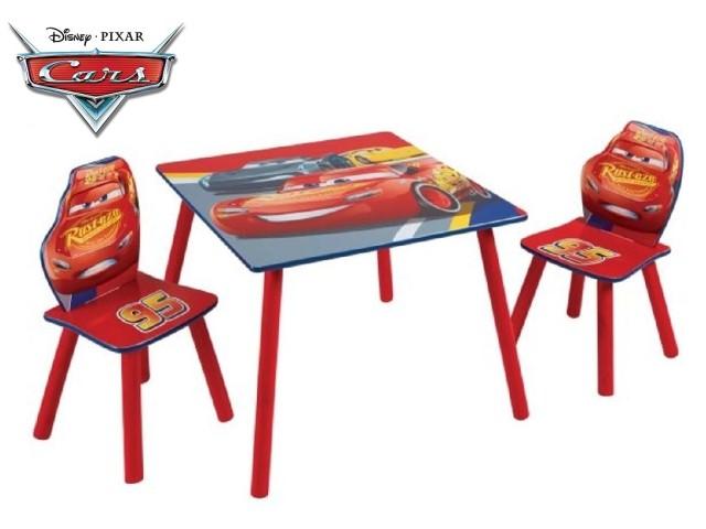 Tavolo per bambini con 2 sedieCARS