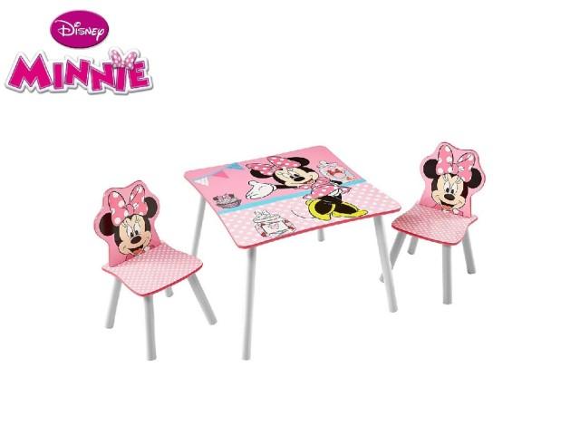 Tavolo per bambini con 2 sedieMINNIE