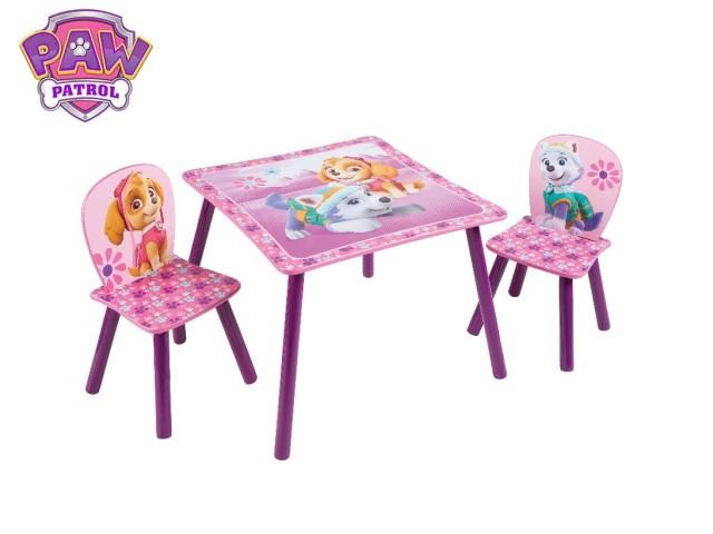 Tavolo per bambini con 2 sediePAW PATROL GIRL