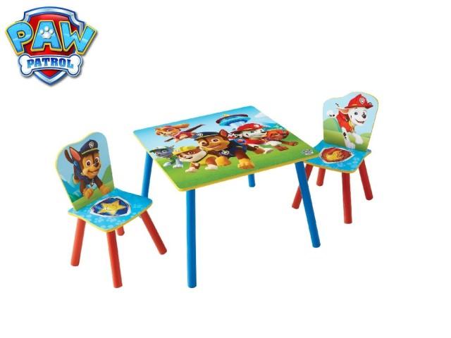 Tavolo per bambini con 2 sediePAW PATROL