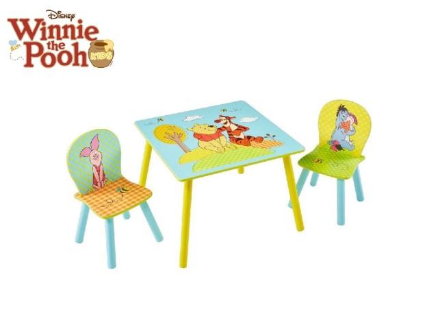 Tavolo per bambini con 2 sedieWinnie the Pooh